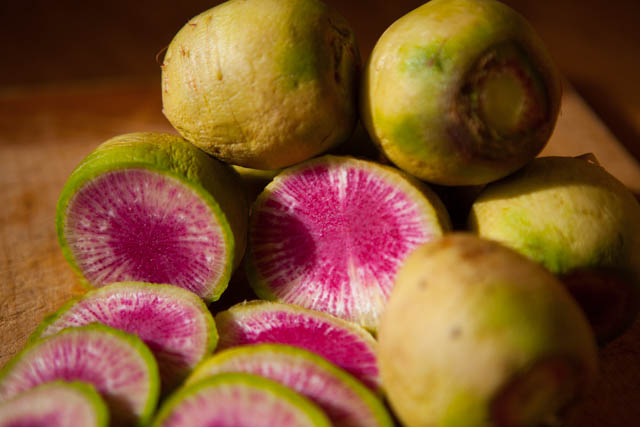 Watermelon Radish Ferment