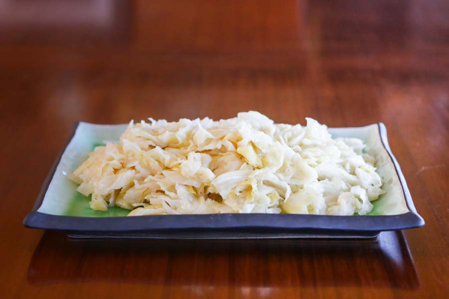 Garlic Cumin Sauerkraut